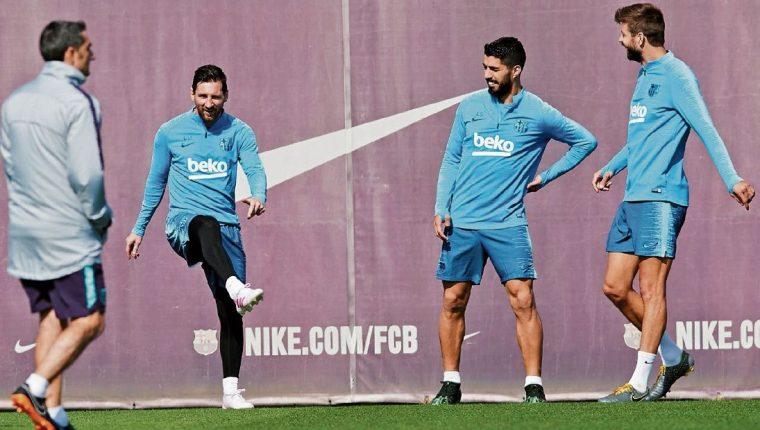 Ernesto Valverde entrenó a Lionel Messi y lo considera una de sus mejores experiencias en el futbol. (Foto Prensa Libre: Hemeroteca PL)