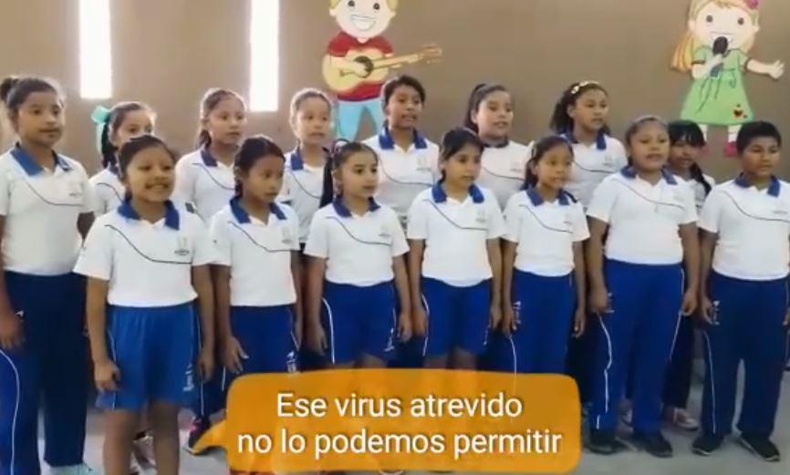 Video: Esta es la canción de la escuela de Ixcanal sostenida por la fundación de Ricardo Arjona para prevenir el coronavirus
