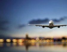Solo 3% de los vuelos programados originalmente operarán durante abril afirma ALTA. (Foto, Prensa Libre: Hemeroteca PL).