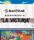 Bantrab presentó la primera serie animada, que busca enaltecer los valores como la responsabilidad. Foto  Prensa Libre: Cortesía