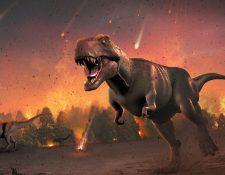 Los dinosaurios estuvieron entre los seres vivos que se extinguieron hace 66 millones de años. MARK GARLICK/SCIENCE PHOTO LIBRARY