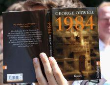 La ficción de George Orwell, publicada en 1949, se basó en hechos reales. GETTY IMAGES