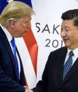 Trump mantiene una agresiva estrategia sobre China previo a las elecciones. (Foto Prensa Libre: BBC).