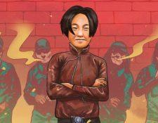 La imagen de Cheng Benhua sonriendo momentos antes de su ejecución es icónica.