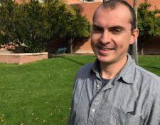 """""""Estadísticamente lo que fue un problema en el pasado, es muy probable que sea un problema en el futuro"""", dice el profesor David Enard. CORTESÍA: DAVID ENARD"""