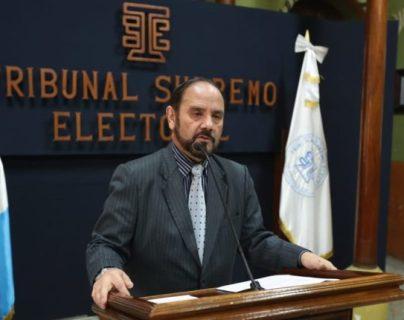 Leopoldo Guerra tuvo a su cargo la inscripción de candidatos en la última vuelta electoral. (Foto: Hemeroteca PL)