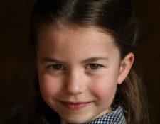 Princesa Charlotte antes de su cumpleaños 5 que se celebrará el próximo 2 de mayo.  (Foto Prensa Libre: The British Monarchy)