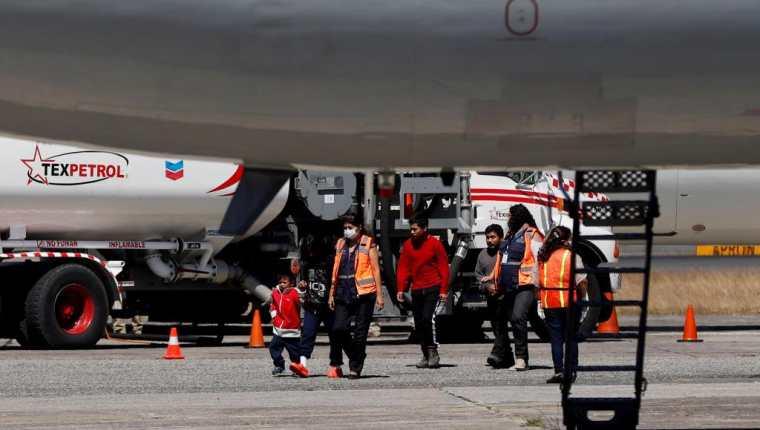 Los vuelos que al parecer si no se detienen son lo que traer deportados, el pasado 22 de mayo arribó el más reciente. (Foto: Hemeroteca PL)