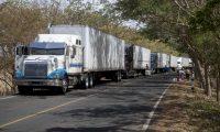 Los sectores productivos de Centroamérica reportan incremento de costos logísticos por las medidas adoptadas por Costa Rica para el transporte terrestre de mercancías en mayo último y se extendió a otros países. (Foto Prensa Libre: Hemeroteca)