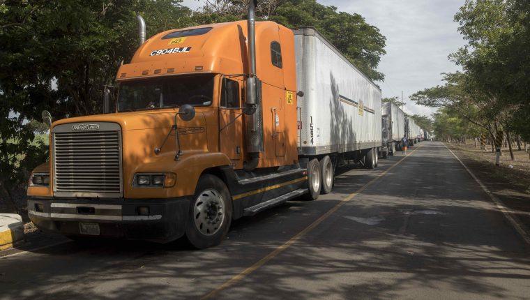 La viceministra de Economía Edith Flores de Molina confirmó que hay un incremento en los costos para el traslado de mercancías hacia Costa Rica por las medidas que se implementaron al resto de países del CA-4. (Foto Prensa Libre: Hemeroteca)