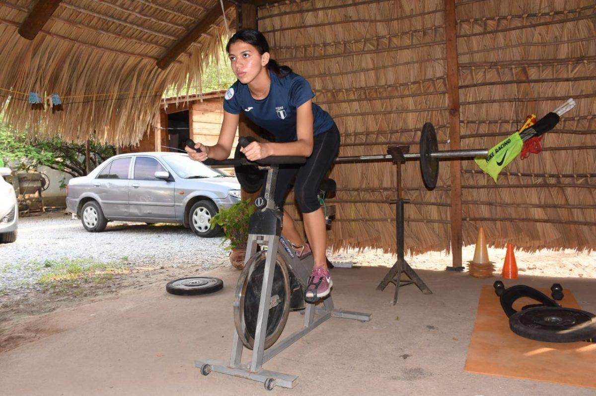 Mariandré Chacón, una guerrera zacapaneca que sueña con ser la mejor velocista