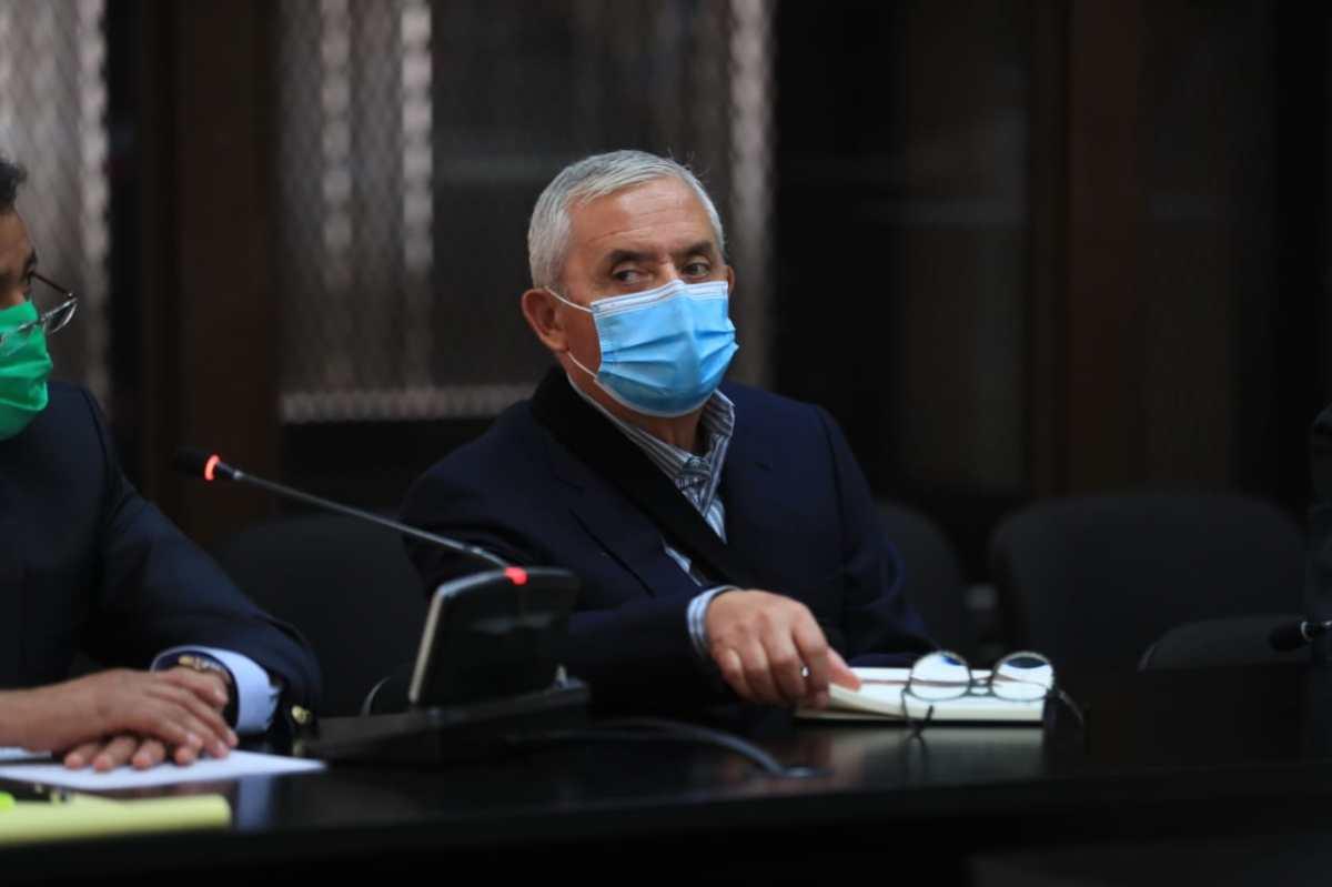 Otto Pérez Molina recibe autorización de un juez para vacunarse contra el coronavirus