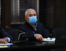 Otto Pérez Molina, es procesado por el caso Cooptación. (Foto Prensa Libre)