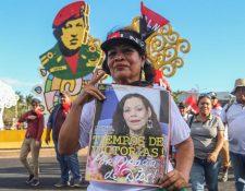 En pleno crecimiento de los contagios por coronavirus, en Nicaragua ha habido manifestaciones en apoyo del Gobierno. (Foto: AFP)