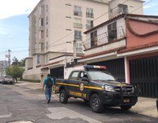 Uno de los lugares donde se desarrollan los allanamientos. (Foto Prensa Libre: Cortesía).