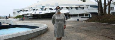 La nueva directora del CCMA ha asumido en tiempos del COVID-19. (Foto Prensa Libre: MCD)