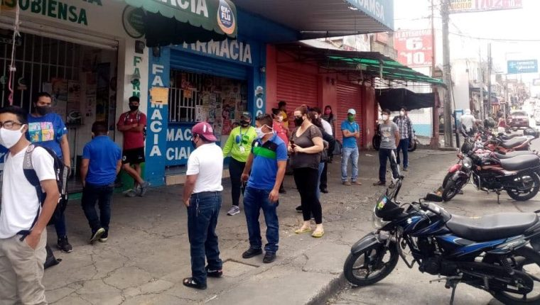 La comuna de Mixco será más estricta para no permitir aglomeraciones en la zona 1 de Mixco. (Foto Prensa Libre: Cortesía)