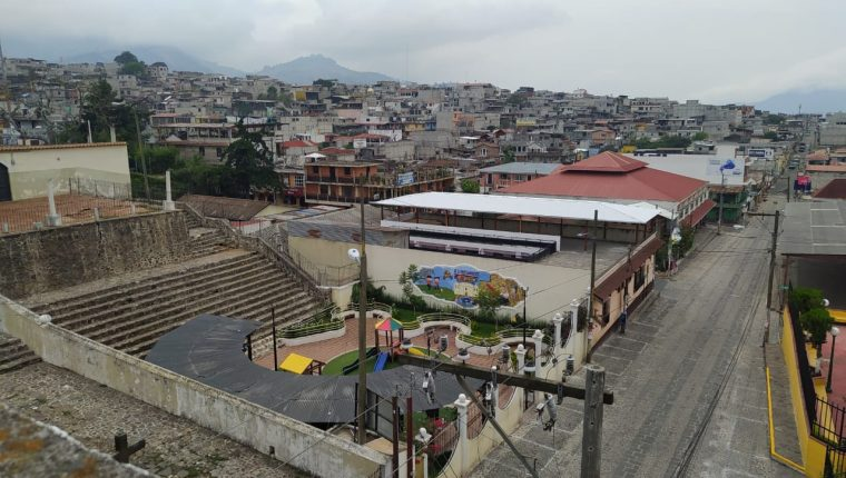 Casco urbano de Sumpango, Sacatepéquez. (Foto Prensa Libre: Municipalidad de Sumpango).