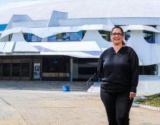 La arquitecta y nueva directora del CCMAA, Lorena Recinos. (Foto Prensa Libre: Juan Diego González)