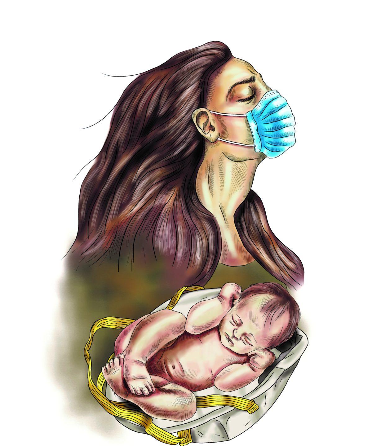 La vida sigue su curso, incluso en cuarentena: cuatro historias de maternidad