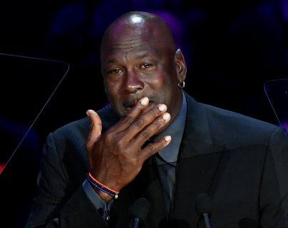 Jordan mostró su indignación por la muerte de Floyd. (Foto Prensa Libre: AFP)
