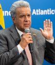 Lenín Moreno, presidente de Ecuador. (Foto Prensa Libre: AFP).
