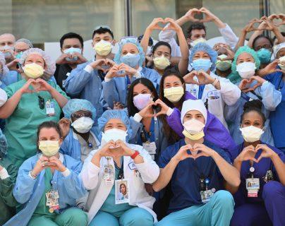 Fotogalería: una celebración atípica del Día Internacional de la Enfermera