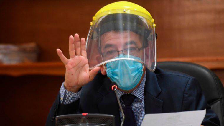El juez Miguel Ángel Gálvez fue separado del caso Manipulación de Justicia. (Foto Prensa Libre: Hemeroteca PL)