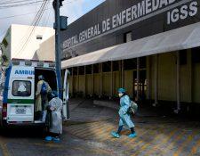 Comisión contra el Coronavirus analiza acciones para que hospitales puedan evitar el hacinamiento y mejorar la atención a pacientes. (Foto Prensa Libre: Hemeroteca PL)