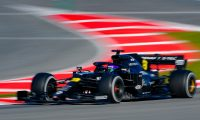 (FILES) In this file photo taken on February 28, 2020 Renault's French driver Esteban Ocon takes part in the tests for the new Formula One Grand Prix season at the Circuit de Catalunya in Montmelo in the outskirts of Barcelona. - Renault said onMay 29, 2020 it will continue to run a team in the Formula One world championship, despite announcing nearly 15,000 job losses in the wake of plummeting car sales. The French manufacturer, which returned to F1 in 2016 after a five-year absence, said upcoming changes to the sport's spending cap will help them continue to compete. (Photo by Josep LAGO / AFP)
