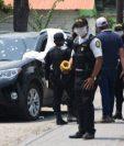 Lugar donde murió baleado el alcalde de Teculután, César Augusto Paz. (Foto Prensa Libre: Wilder López).