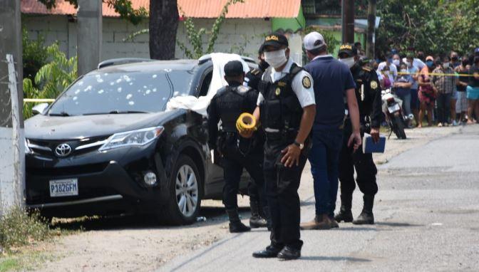 César Augusto Paz, alcalde de Teculután, muere baleado