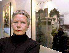 Una fotografía de Astrid Kirchherr en el 2000.  (Foto Prensa Libre: Ulrich Perrey / dpa / AFP).