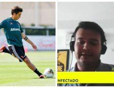 Dybala y un médico colombiano han llamado la atención de los científicos. (Foto Prensa Libre: Twitter Juventus FC y video Noticias Caracol)