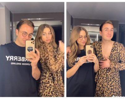 Mario Götze y su esposa publican videos en TikTok. (Foto Prensa Libre: TikTok: Ann-Kathrin Götze)