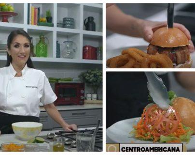 ¿Frijol y coco? Las recetas con ingredientes de países de la Concacaf con las que Mirciny Moliviatis celebró el Día de la Hamburguesa