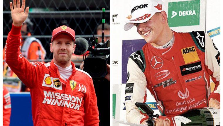 Vettel no continuará en Ferrari y Mick Schumacher suena como posible reemplazo. (Foto Prensa Libre: AFP y Hemeroteca PL)