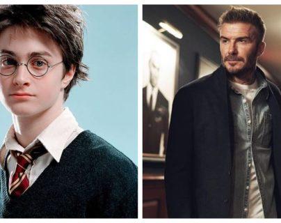 Daniel Radcliffe y David Beckham se unen por Harry Potter y la Piedra Filosofal. (Foto Prensa Libre: Instagram)