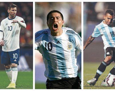 Lionel Messi, Juan Román Riquelme y Carlos Tevez son protagonistas de un conmovedor video de la AFA. (Foto Prensa Libre: Hemeroteca PL)