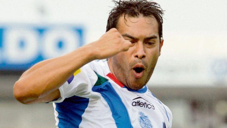 Carlos 'el Pescado' Ruiz anotó 5 goles en 17 partidos en el Apertura 2019. (Foto Prensa Libre: Hemeroteca PL)