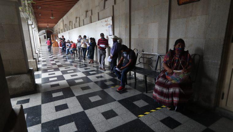 El pago del recibo único vencía el 6 de mayo, pero la comuna cambió la fecha al 13 del mismo mes. (Foto Prensa Libre: María Longo)