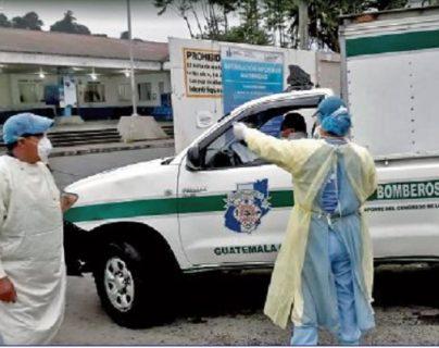 Nueve médicos del Hospital Nacional de Chimaltenango se contagiaron del nuevo coronavirus, estableció la PDH. (Foto Prensa Libre: Víctor Chamalé)