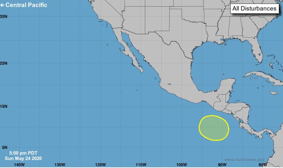 Conred alerta de posible formación tropical que traerá más lluvias al país