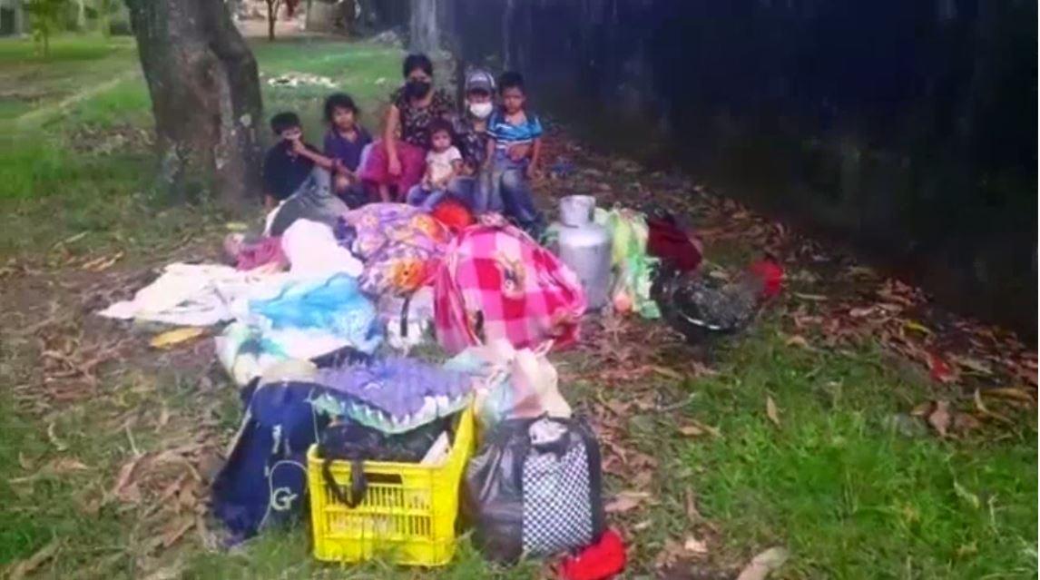 Familia clama por ayuda porque se quedaron sin dinero para pagar la renta