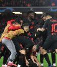 El Atlético de Madrid eliminó al Liverpool en Anfield. (Foto Prensa Libre: Hemeroteca PL)