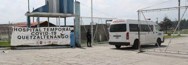 Los interesados pueden optar a las plazas en el hospital temporal hasta el lunes 18 de mayo. (Foto Prensa Libre: María Longo)