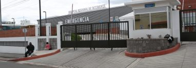 Por ahora los pacientes con coronavirus son recibidos en un área aislada de la emergencia del hospital del Igss. (Foto Prensa Libre: María Longo)