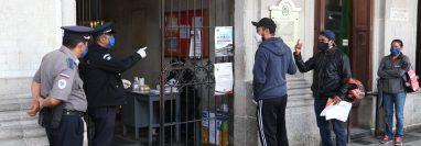 La comuna quedará cerrada y solo atenderá emergencias en servicios básicos. (Foto Prensa Libre: Raúl Juárez)