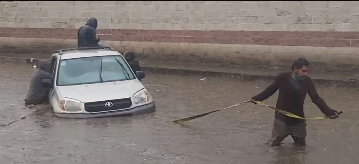 ClimaGT  Intensa lluvia provoca inundaciones en varias zonas de Xela