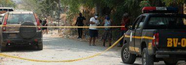 Se han implementado otros cordones sanitarios como el establecido en Ixcanal, El Progreso. (Foto Prensa Libre: Hemeroteca PL)